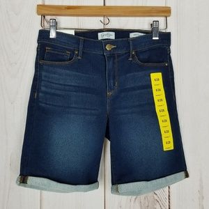Jessica Simpson | Midrise Blue Jean Bermuda Shorts